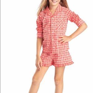 American Girl Gingham Pajamas-NWT